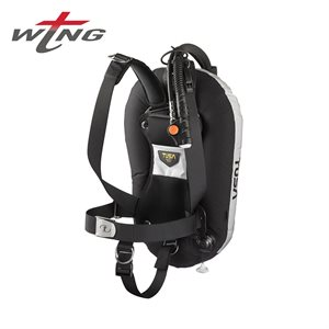 T-WING ALUMINUM HARNESS, BACK INFLATE, ADJUSTABLE BC