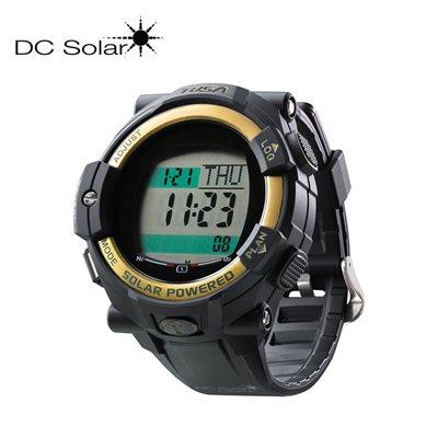 DC SOLAR LINK WATCH - BLACK / GOLD