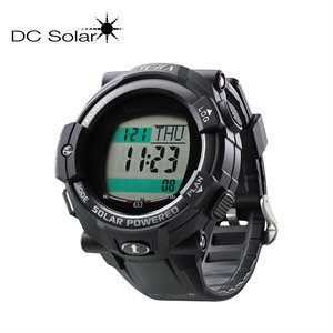 DC SOLAR LINK WATCH - BLACK
