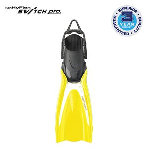 SWITCH PRO FIN - LARGE FLASH YELLOW (L-XL)