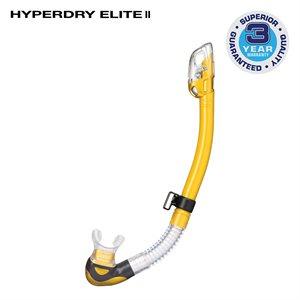 HYPERDRY ELITE II SNORKEL - GOLD