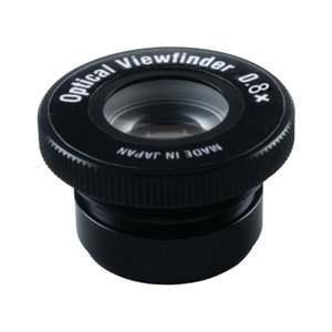 0.8x INTERCHANGEABLE PICK-UP VIEWFINDER