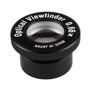 0.66x OPTICAL VIEW FINDER **