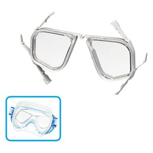 TUSA SPORT OPTICAL LENS -3.0 (PAIR ASSEMBLED WITH A FRAME)