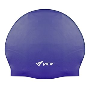 SWIM CAP SILICONE RUBBER - NAVY BLUE