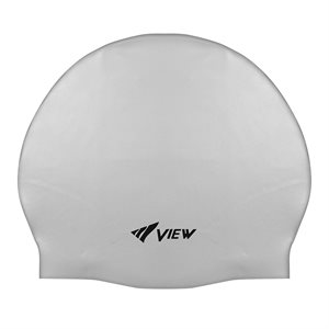 SWIM CAP SILICONE RUBBER - WHITE