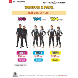 'WETSUIT 8 PACK' PROGRAM PRICING