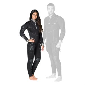 645225 SD COMBAT 7MM SEMI-DRY FULLSUIT - FEMALE L