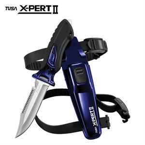 X-PERT II KNIFE POINTED - COBALT BLUE