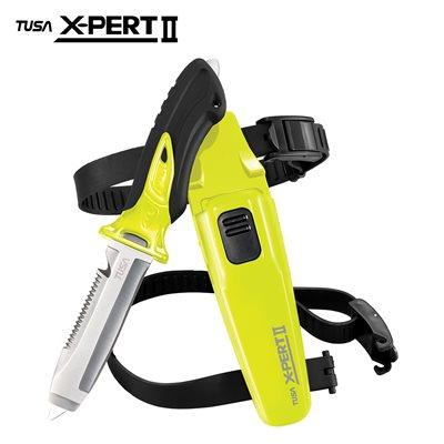 X-PERT II KNIFE BLUNT - FLASH YELLOW