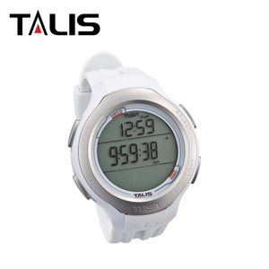 TALIS DIVING COMPUTER W / WHITE STRAP & SIDE COVER KIT - METRIC **