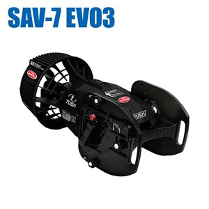 UNDERWATER SCOOTER SAV-7EVO3 BODY - BLACK