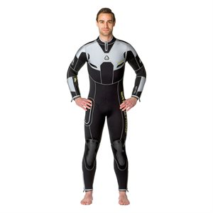 061113 W4 7MM FULLSUIT WITH BACK ZIP - MALE M TALL